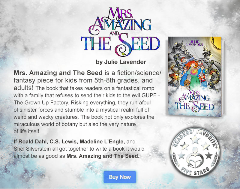 Mrs. Amazing by Julie Lavender